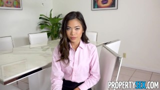 Estate agent takes propertysex petite big cock real asian asian big