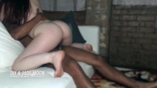 Redhead Devours Dick • DickAfterDark • JayJadeMoon Amateur Couple