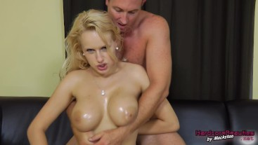 Young Angel Wicky rental inspection and titfucking