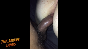 Giving My Girl A Creampie And Anal