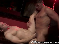 FalconStudios Gabriel Cross Analized By Thick Grown Man