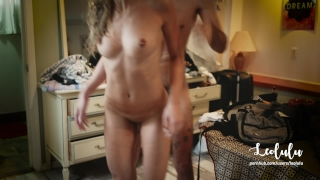 Quickie After the Shower! We started without camera... - Amateur LeoLulu Threesome mother