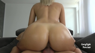 He came too early / inside my tight pussy Creampie office
