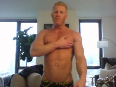 Muscle Worship Session with Johnny V