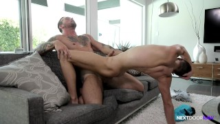 NextDoorRaw Straight Hunk Barebacks Boy's Younger Twink Brother porno