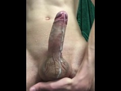 Anal Fingering and Double Cumshot