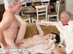BLUE PILL MEN - Dirty Old Men Stick Their Dirty Old Dicks In Alex Harper
