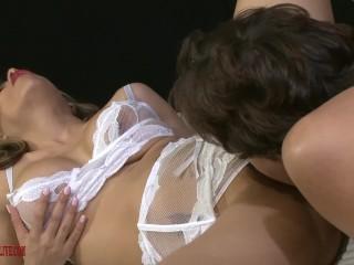 LUNA STAR ERIC JOHN deeply orgasmic sex cum on tongue lips tits pussy