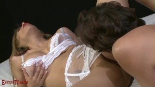 LUNA STAR & ERIC JOHN deeply orgasmic sex, cum on tongue/lips/tits/pussy