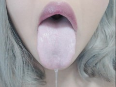 Mouth/Drool/Tongue Fetish.