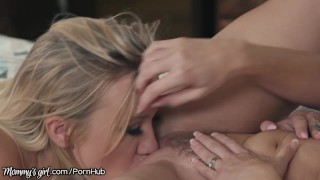 MommysGirl Cory Chase & Curious Lesbian Step Teen Bailey Brooke In cowgirl