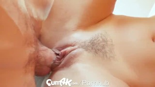 Creampie oozing multiple cumk workout young doggy