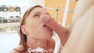CUM4K MULTIPLE OOZING creampie workout Hotguysfuck boobs
