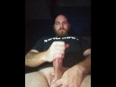 Solo male masturbation
