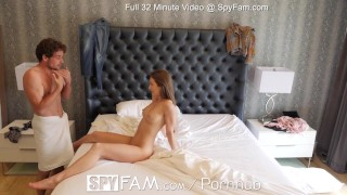 SPYFAM Step sister DEEP creampie by big dick step bro Fuck hardcore