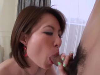 asian student learning to suck dick