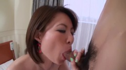 Asian Student Learning To Suck Dick!