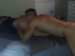 eat her ass lick her pussy cums in my mouth& fuck her my tinder milf slut