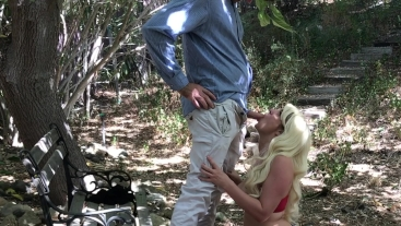 Sex with a stranger in a public park - Erin Electra