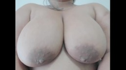Quick BBW Breasts Bouncing and Jiggling