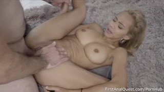 Leal veronica virgin remarkable anal creampie skinny cum