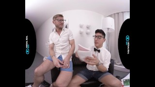 VirtualRealGay.com - Scientific wild party