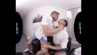 VirtualRealGay.com - Scientific wild party Hardcore wanking