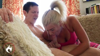 BTS PAWG Layla Price's slutty mouth is cock-hungry before the scene
