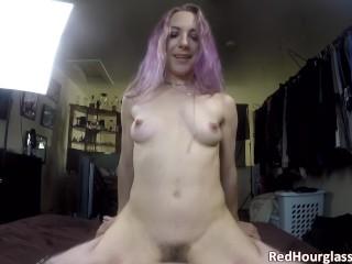 Big amateur tube milf with a hairy bush and tight body fucks me good, point of view pov milf pov sex