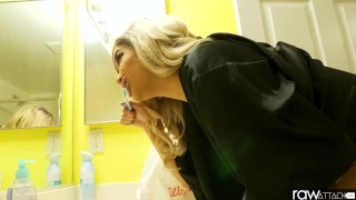 RawAttack - Latin Aaliyah Hadid is punished by a monster cock, interview Drilled nails