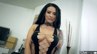 RawAttack - Latin Katrina Jade is punished by a monster cock, interview Mk13783 khalifa