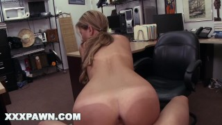 XXX PAWN - Waitress Desperate For Cash Ends Up Selling Her Ass