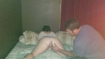 Sexy BBW gets her ass ate and her pussy