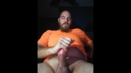 Male moaning masturbate