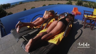 Lazy Morning Suck n Fuck Next to My Friend - Amateur Couple LeoLulu  big ass outside friend pool pov fit girl deepthroat orgasm doggystyle best ass doggystyle drone pov blowjob fit teen holidays amateur teen leolulu