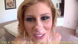 Dirty talk - Ebony babe Facial Compilation -Belle Moretti Bethany Benz Bran