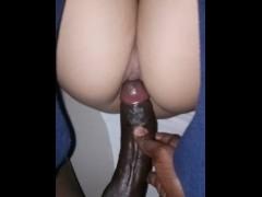 Asian pinay wet big pussy take BBC  too deep