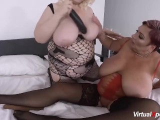 Extrémne chlpatá amatérska mama Hedvika lesbické akcie.