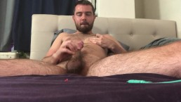 Touching myself after work