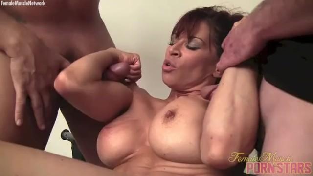 Female bodybuilder porn zola Female bodybuilder porn star gives head muscle fucks