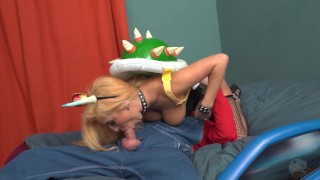 Bowsette the porn parody bowsette woodrocket