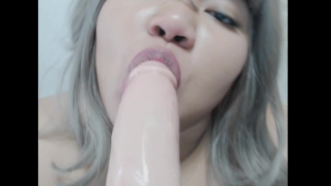 My first blowjob video with eye contact