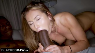 BLACKEDRAW Girlfriend Cheats With BIGGEST BBC in The World! porno