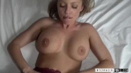 RedHead Britney Amber makes a sex tape with Jax Slayher