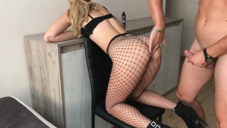 Loves cock tight in anal sis hd fishnet ass her huge step homemade