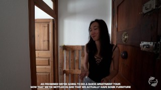 Apartment Tour & Meeting MySweetApple  The Sex Diaries 11 porno