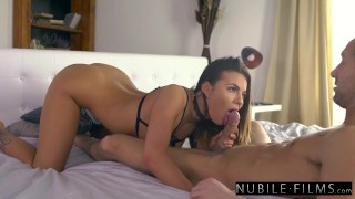 NubileFilms - Naughty Assistant Surprises Her Boss At Home S27:E30 Boobs lesbian