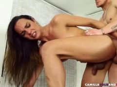 Latina tgirl cock ridden