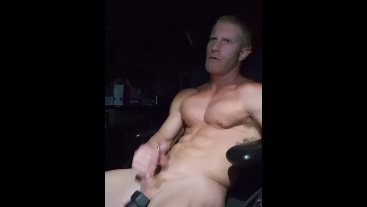 Shaved Head, Ball Stretchers & Penis Rings, OH MY!