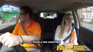 School georgie sex lyall driving fake off duty kissing pussy